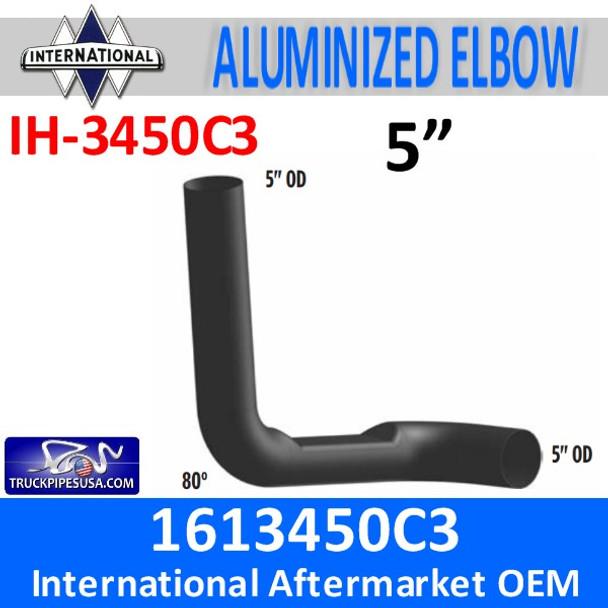 1613450C3 International 8200 Day cab Exhaust Elbow IH-3450C3