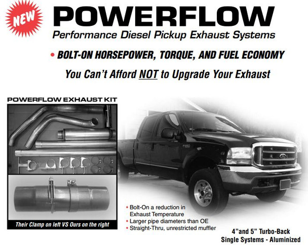 """2003-2005 Ford 6.0 Powerstroke 4"""" Stack Kit (PS-6.0-A4)"""