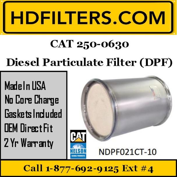 250-0630 CAT C9 DPF Diesel Particulate Filter