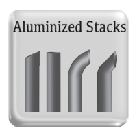 aluminzed stack pipes