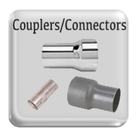 Reducers and exhaust couplers