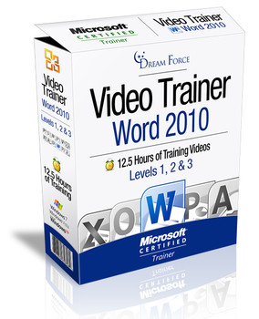 Word 2010 Training Videos level 1 - Download