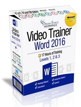 Word 2016 Training Videos