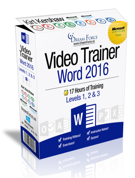 Word 2016 Training Videos Level 1 - Download