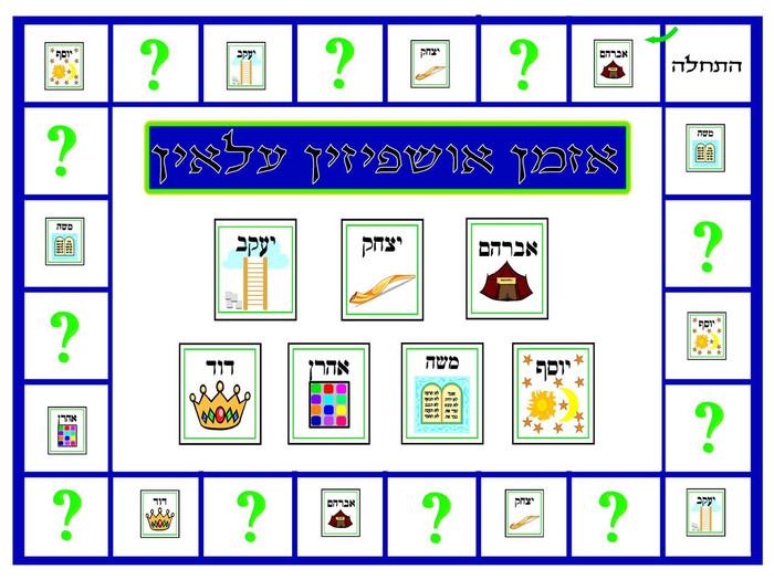 Azaman Ushpizin Game