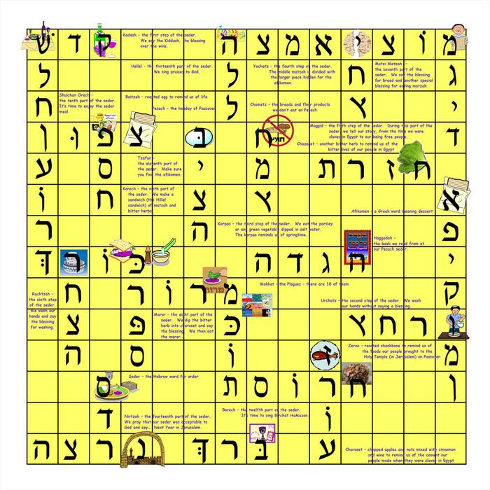 Pesach Scrabble