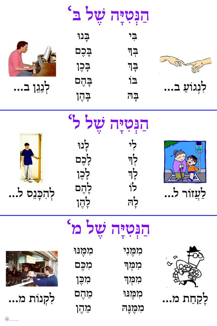 Hanitiah Shel Grammar Poster