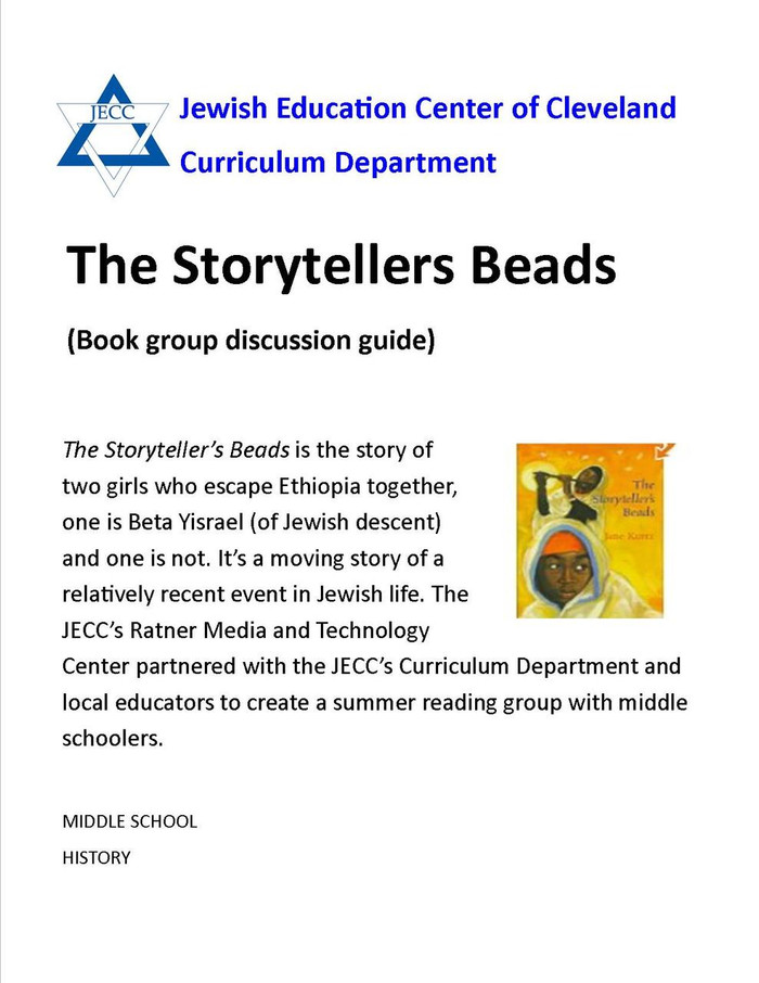 The Storyteller's Beads: Book Group Discussion Guide (Middle School)