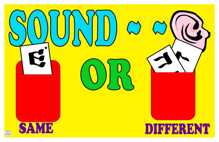 Sound the Same/Sound Different Game