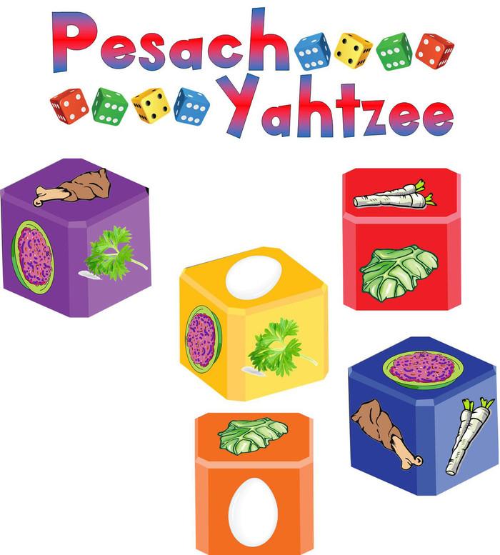 Pesach Yahtzee