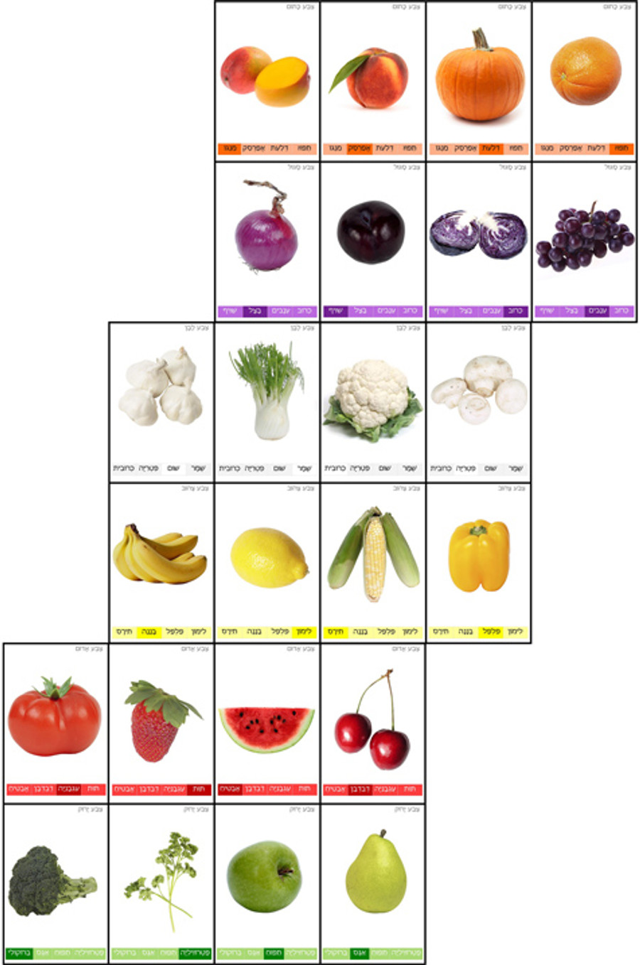 Fruits and Vegetables Go Fish (a downloadable item)