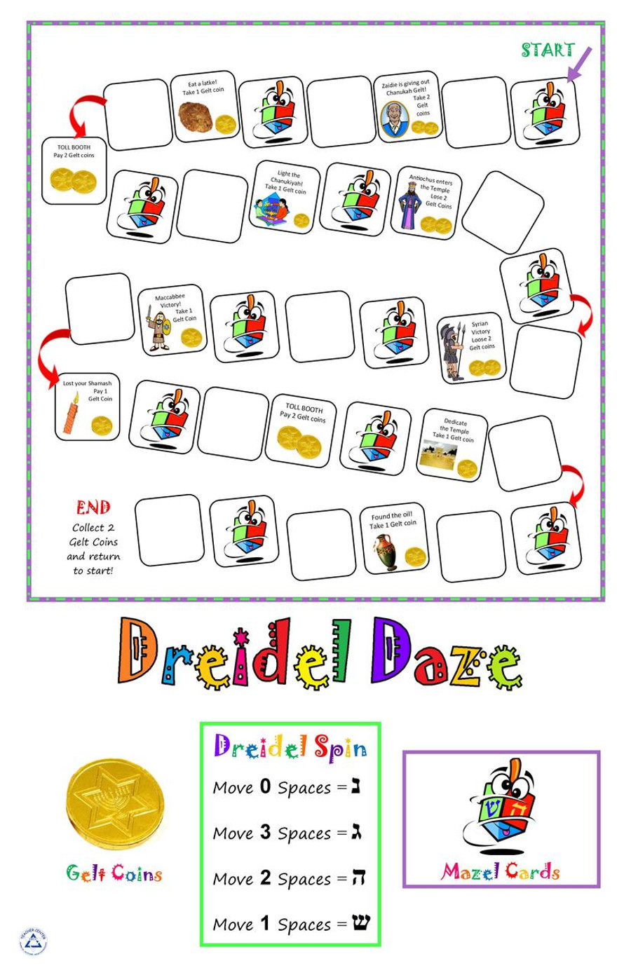 Dreidel Daze