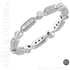 (NEW) BELLA COUTURE FINE GORGEOUS DIAMOND 14K ETERNITY RING (SIZE 7) (1/4 CT. TW.)