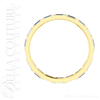(NEW) BELLA COUTURE ® ETHEREAL 14K Yellow Gold Baguette 1/2CT Diamond Eternity Ring Band
