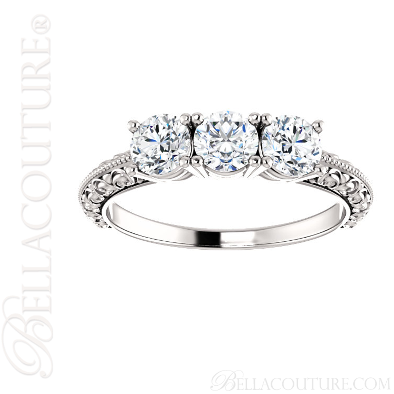 pxbnrnz ring stone promise three engagement trellis diamond wedding