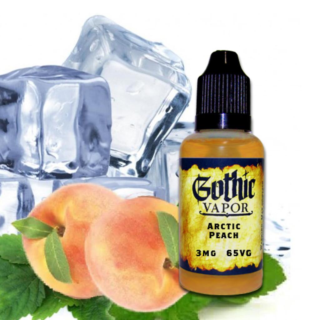 arctic peach, menthol peach eliquid