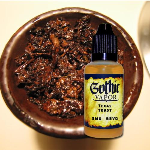 texas toast eliquid, molasses tobacco