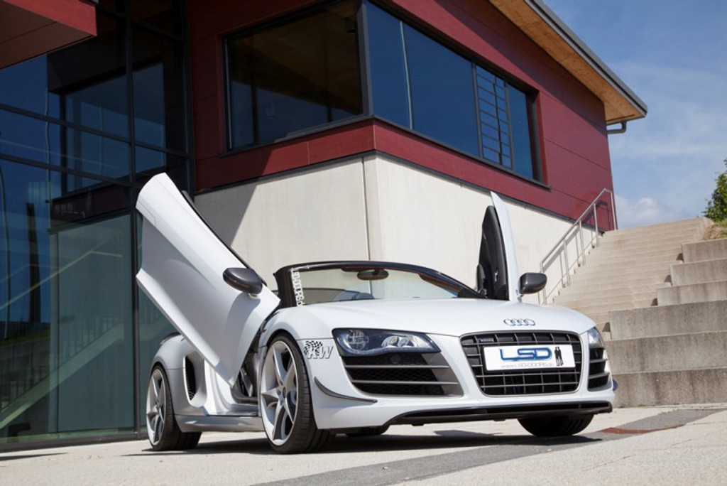 Audi R8 LSD Door Conversion