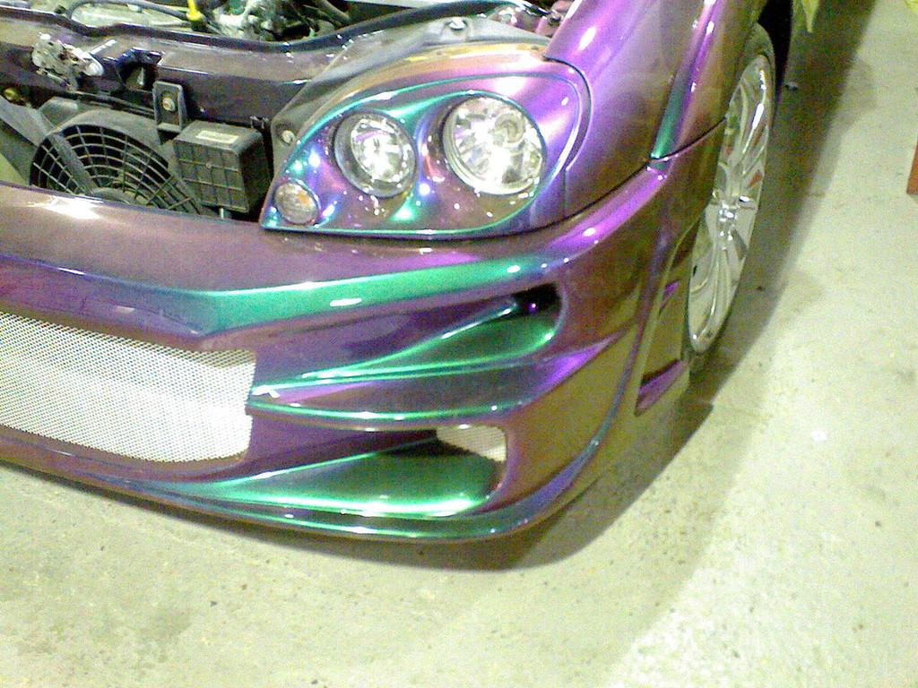 Automotive Paintwork - Chromoflair 190