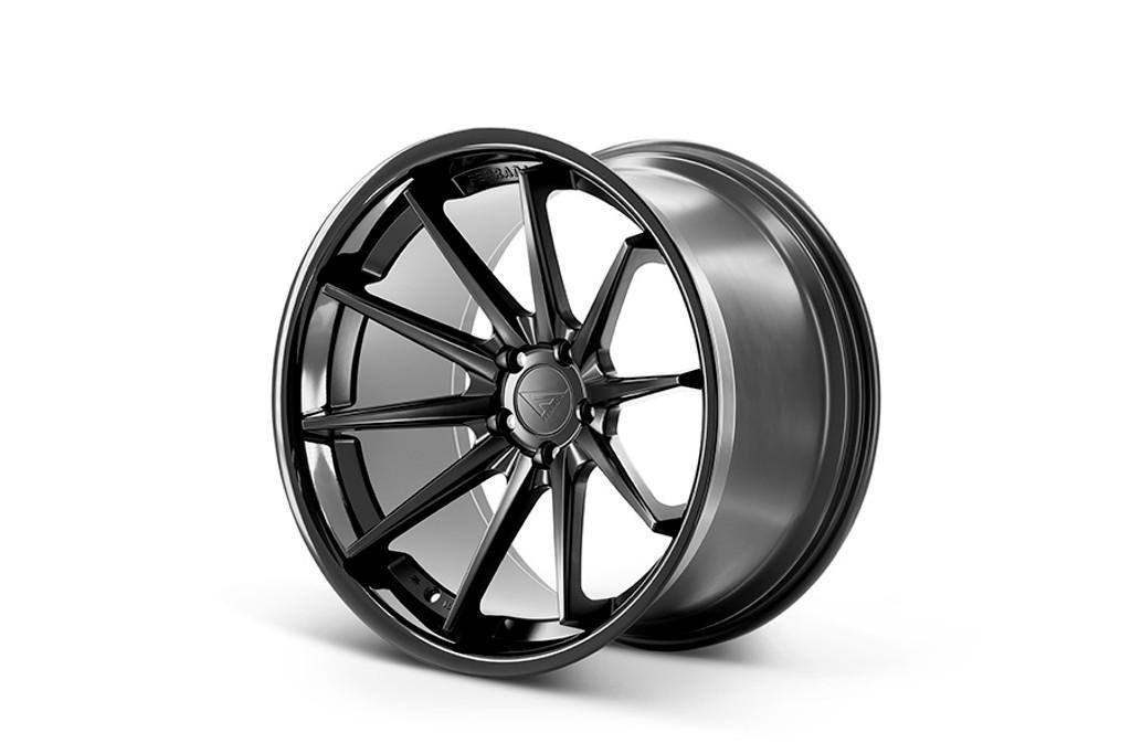 """20"""" Ferrada FR4 Alloy Wheels Staggered Fitment"""