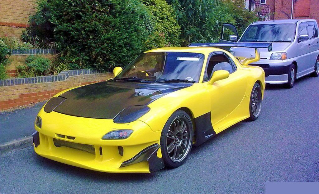Mazda RX7 FD3S RE Style Body Kit - Meduza Design Ltd