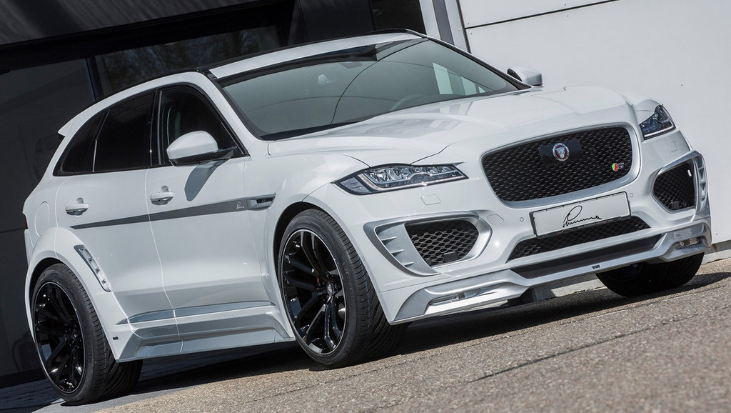 Jaguar F Pace Lumma Design CLR F Body Kit