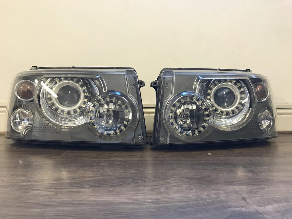 Range Rover Sport 2005-2009 Staggered LED Headlight Upgrade