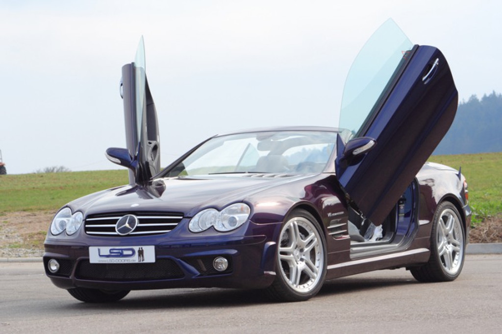 Mercedes SLK Class LSD Door Conversion Kit & Mercedes SLK Class LSD Door Conversion Kit - Meduza Design Ltd