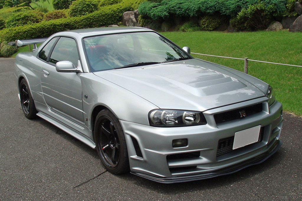 Used Vehicles For Sale >> Nissan Skyline R34 GTR Z Tune Style Front Bumper - Meduza Design Ltd