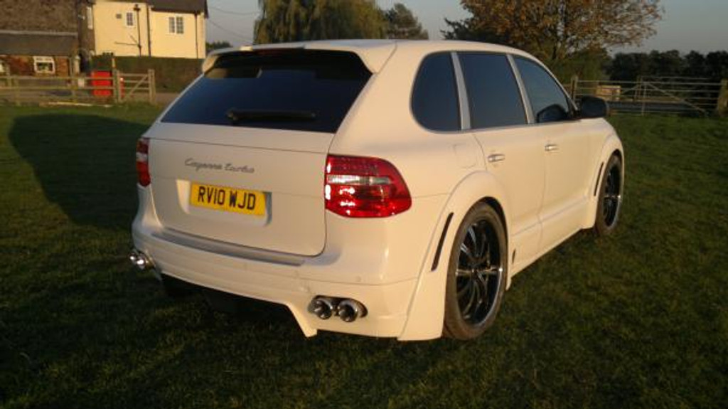 Porsche Cayenne 2010 Meduza Aerodynamic Bodykit Fitted and Painted