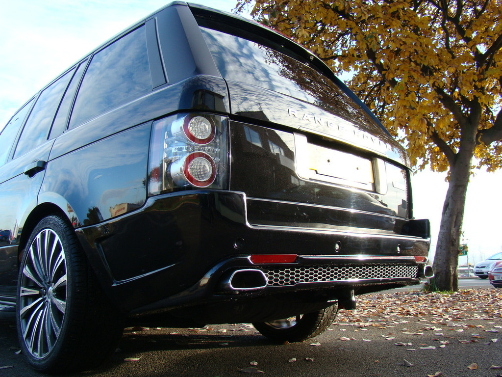 Range Rover Vogue L322 Facelift Meduza RS Body Kit-Black