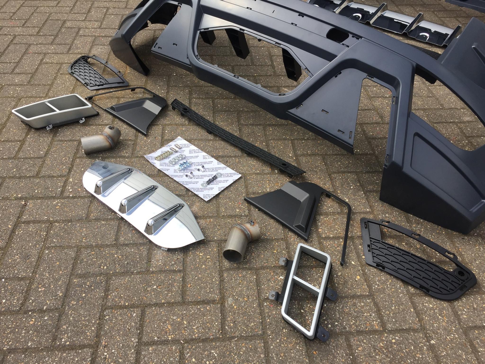 Range Rover Evoque Svr Body Kit Meduza Design Ltd
