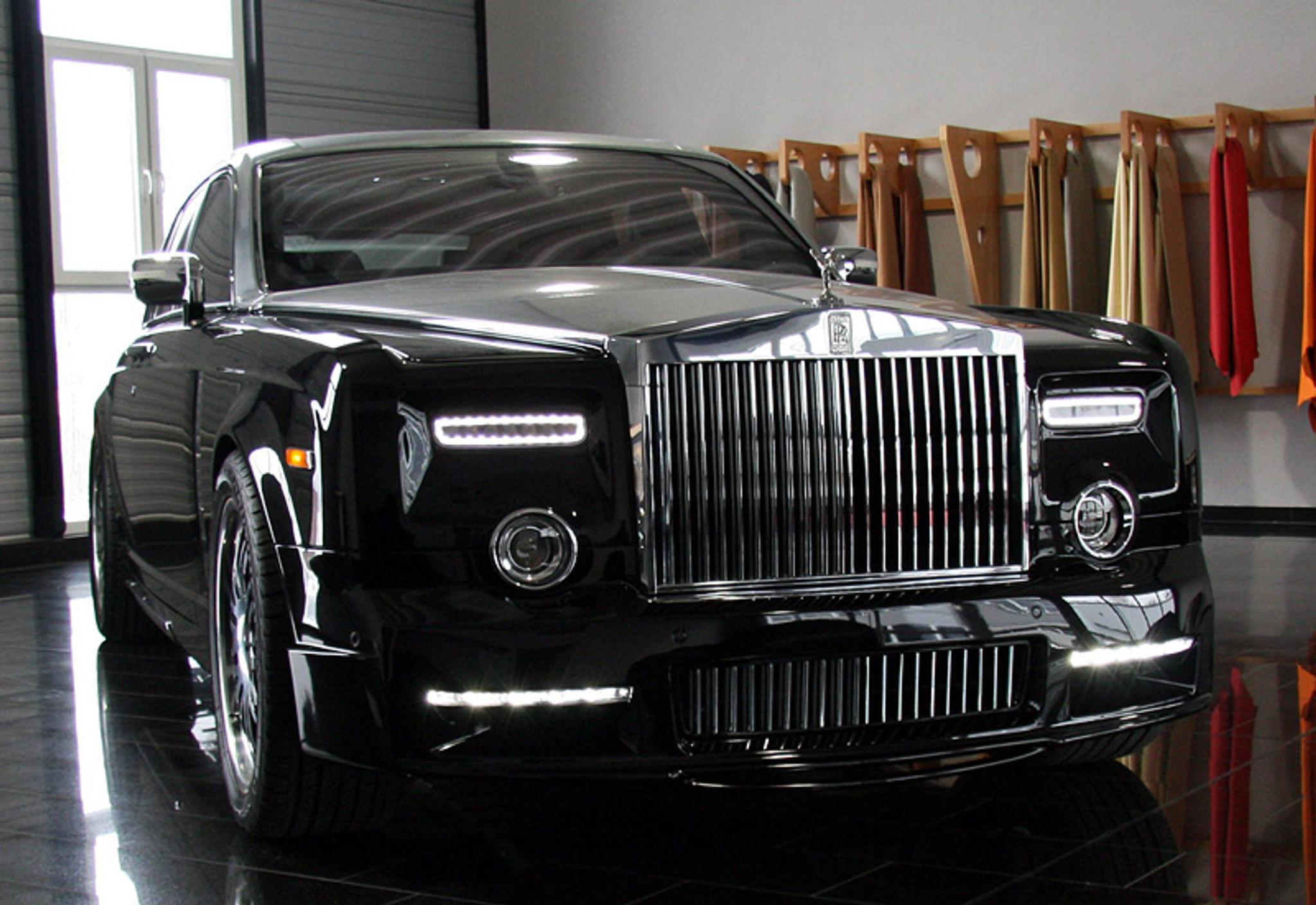 Rolls Royce Phantom Mansory Style Body Kit - Meduza Design Ltd