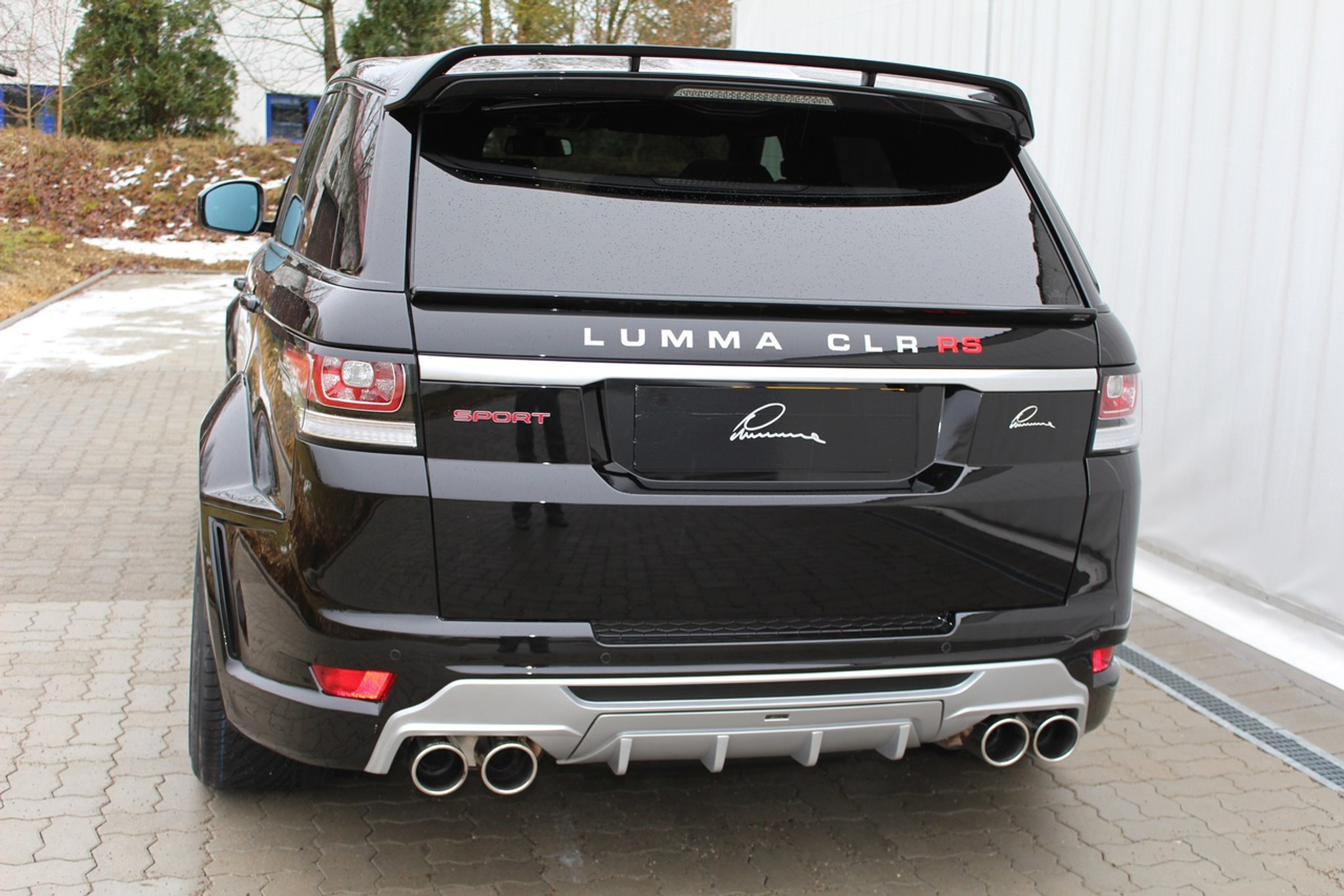 Range rover sport 2014 lumma design clr rs package for Range rover exterior design package