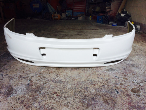 Bentley Continental GT/C Supersport rear bumper for models 04-09