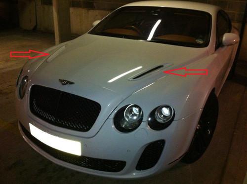 Bentley Continental GT/GTC Super Sport Bonnet Vents
