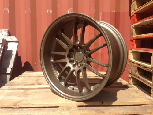 "18"" Calibre 7Twenty Alloy Wheels Matt Bronze"