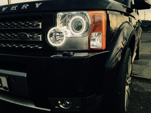 Land Rover Discovery 3 Headlight Conversion to 2013 LED
