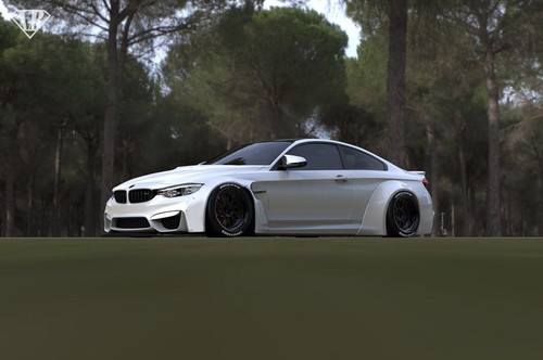 BMW 4 Series Liberty Walk Body kit