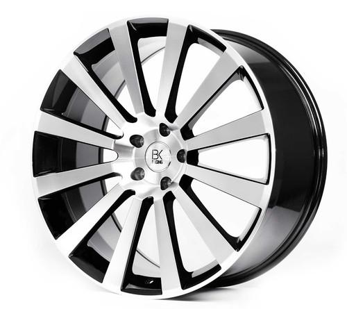 """BK Racing BK660 22"""" Alloy Wheels"""