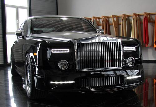 Rolls Royce Phantom Mansory Style Body Kit