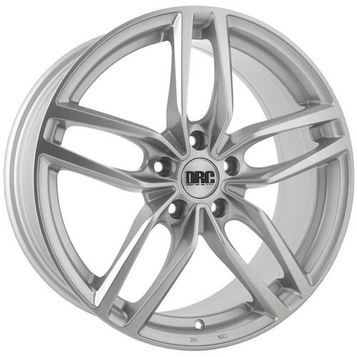 """18"""" Alloy Wheels DRC DRS Sparkle Silver"""