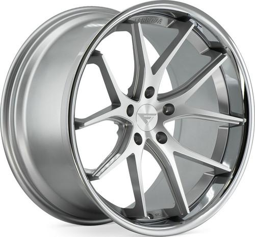 """Ferrada FR2 9 x 20"""" Alloy Wheels Machine Silver"""