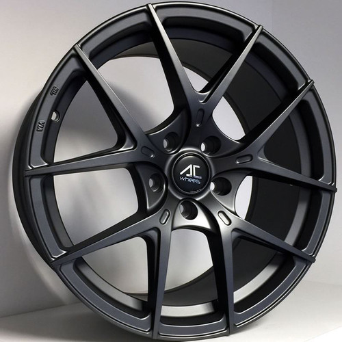 "AC Supremo 19"" Alloy Wheels Matt Dark Grey"