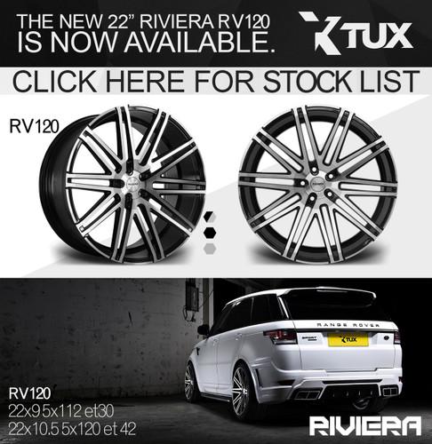 "22"" Riviera RV120 Alloy Wheels"