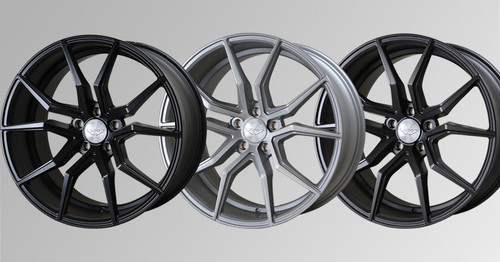 "Judd 20"" T402 Alloy Wheels Staggered Fitment"