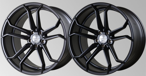 "Judd 20"" T502 Alloy Wheels Staggered Fitment"
