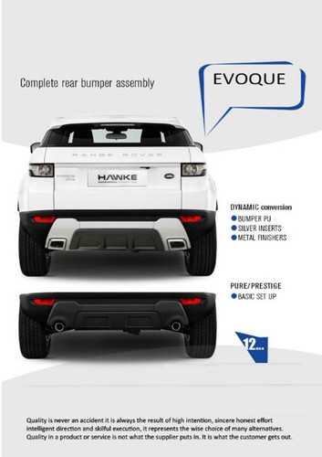 Range Rover Evoque Dynamic Rear Bumper Conversion