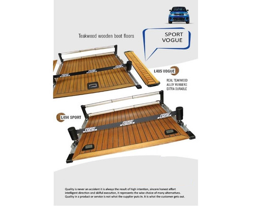 Teakwood Wooden Boot Floor Range Rover L405