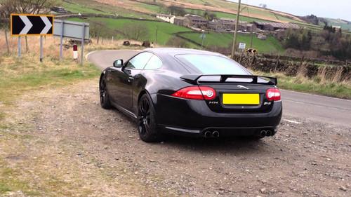 Jaguar XKR-S Spoiler Genuine with Carbon Fibre Insert